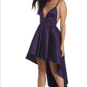 Windsor Purple homecoming dress